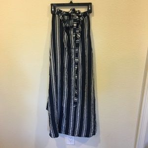 Show Me Your MuMu Skirts - Show Me Your MuMu siren wrap navy skirt